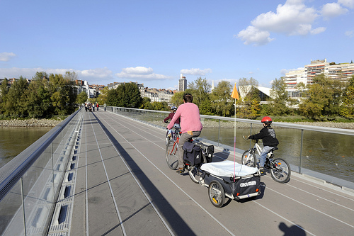 Passerelle Schoelcher (Photo European Cyclists' Federation)