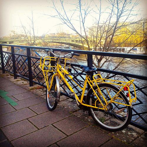 Vélo à proximité de l'île de Versaille (Photo barbidule44)
