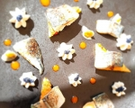 Maquereau grillé - Panisse à l'Escabèche